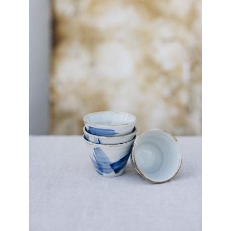 miska čajovábílá šlemovka